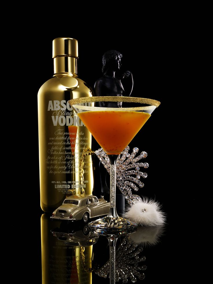 Absolut Vodka - Limited Edition: Absolut Bling-Bling (2006)