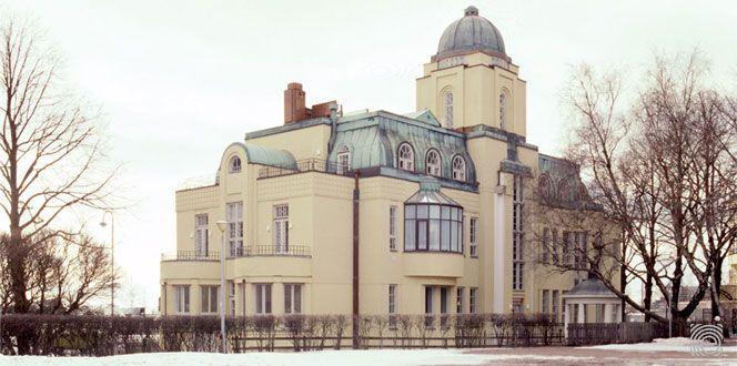 Villa Ensi, Eira, Helsinki, Finland. Architect Selim A. Lindqvist