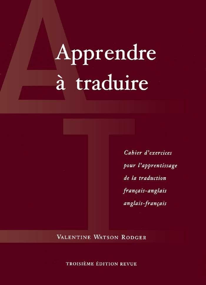 Apprendre A Traduire Francais Anglais Et Anglais Francais