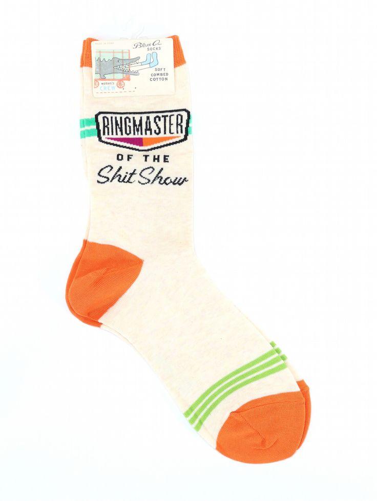Ringmaster Girl's Crew Socks