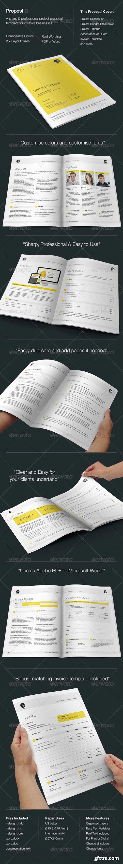 GraphicRiver Proposal Template 32 best Style