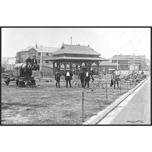 Shortland Park in Newcastle,New South Wales in 1907.