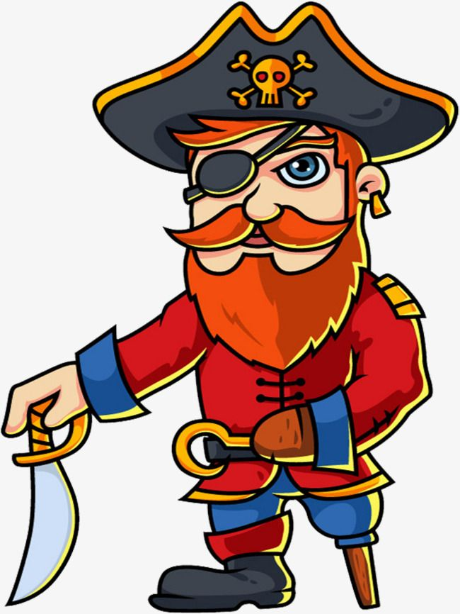 Картинка пирата на прозрачном фоне
