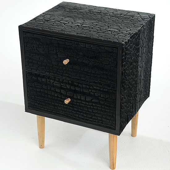 123 best burnt wood furniture images on pinterest burnt