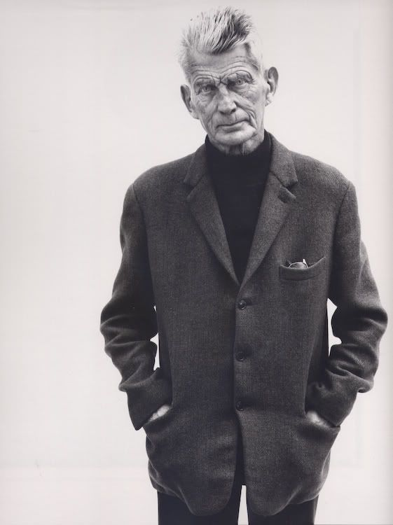 Сэмюэл Беккет by Richard Avedon