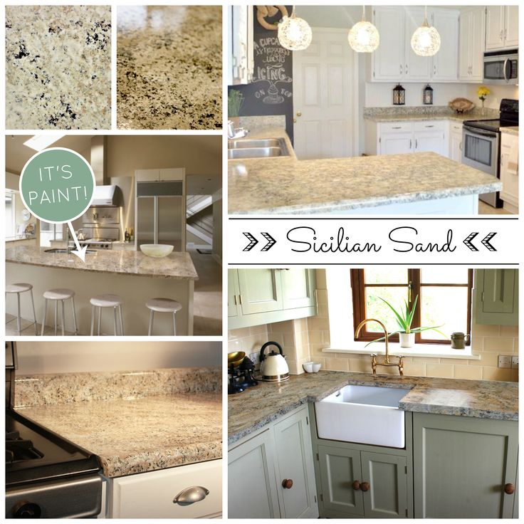 Beautiful And Affordable Painted Countertops Diy Countertop Paint Kits From Giani Granite Get