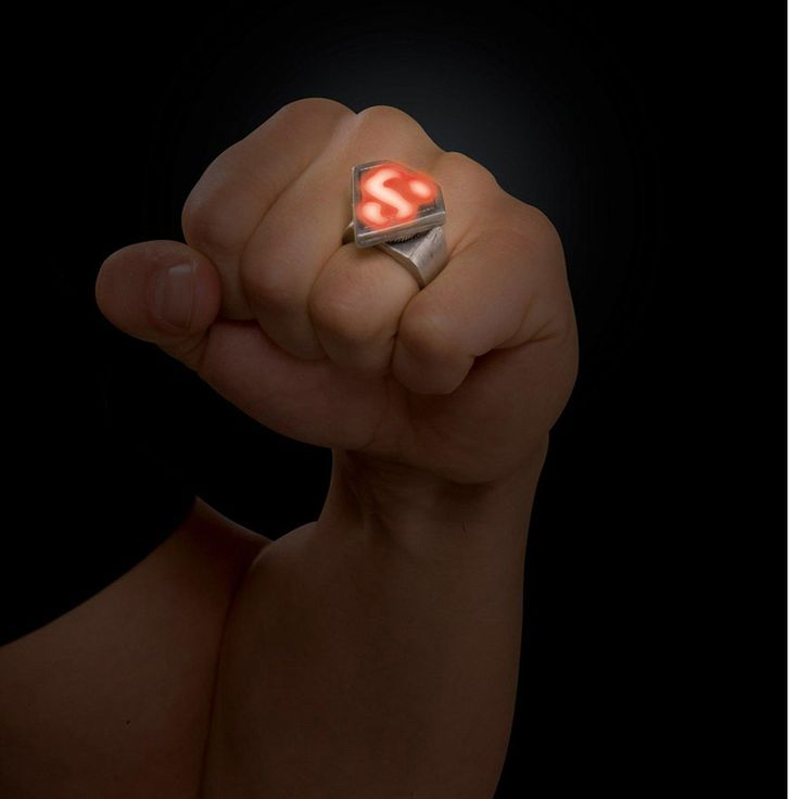 Nice Costume Accessories Superman Ring just added...