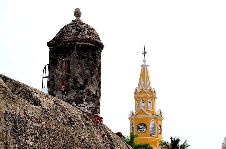 Cartagena - Clock Tower - Entrance to Wall City