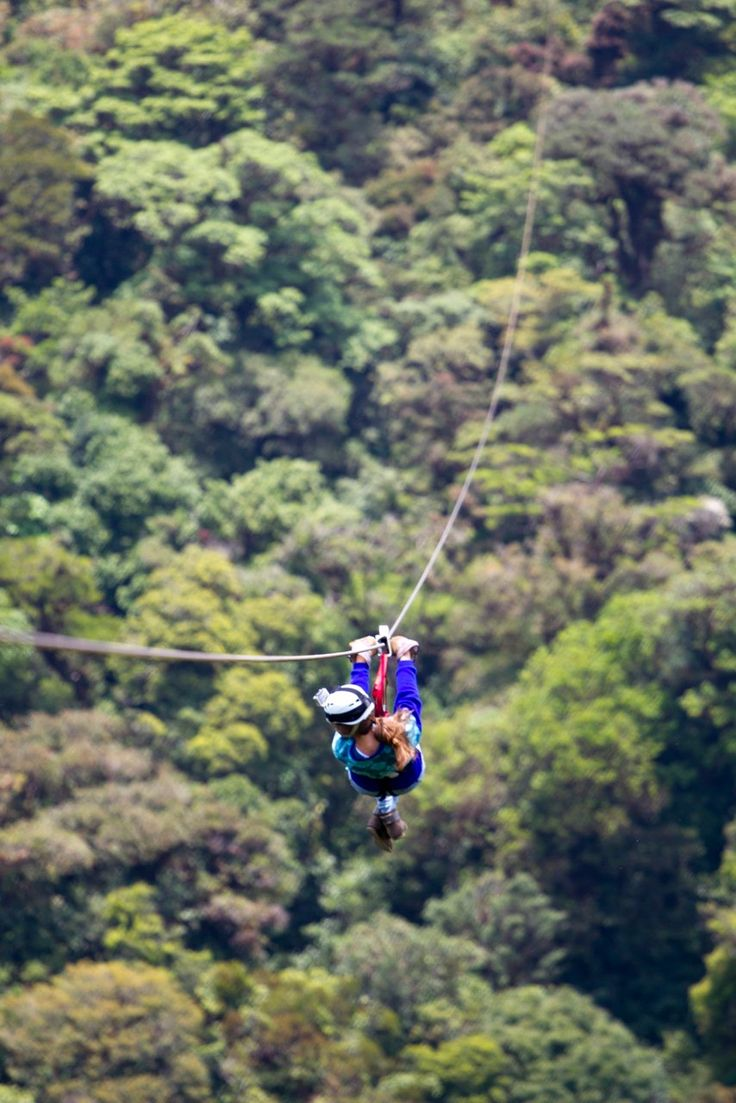 These ziplines are the world's most scenic, fastest, and intriguing. Ready? Clip in.