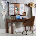 PB Teen Hampton Classic Desk, Dark Espresso at Pottery Barn Teen - Teen Desks - Work Desks