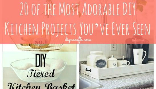20 of the Most Adorable DIY Kitchen Projects You've Ever Seen