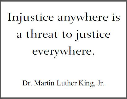 best inspirational quotes images thoughts words injustice anywhere is a threat to justice everywhere martin luther king jr