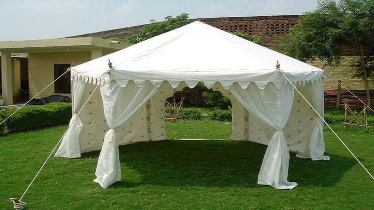 White Pavilion Tent