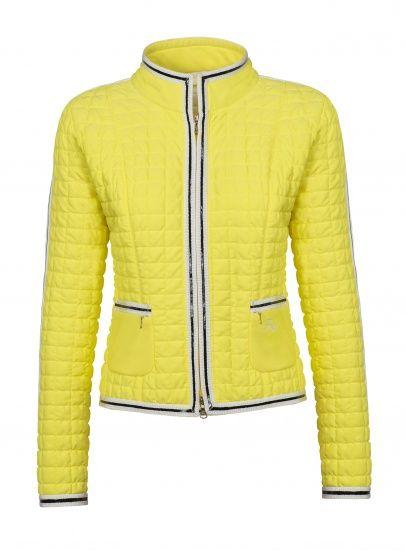 Куртка женская стеганая желтая Fay сезона 2013 где купить в Москве - магазин Кашемир и шёлк