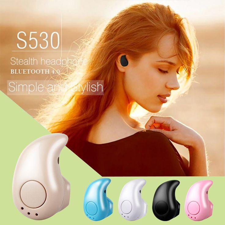 S530 Mini Drahtlose Bluetooth Kopfhörer Stereo Headset mit Mikrofon Fone De Ouvido Universal-freisprecheinrichtung für iPhone Samsung