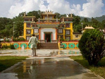 Jamyang, the former monk, in Bir, Himachal Pradesh, India #himachal #india #travel #buddhism #kamalan