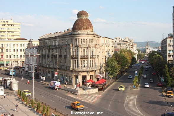 Across Unirea Square in Iasi, #Romania #architecture