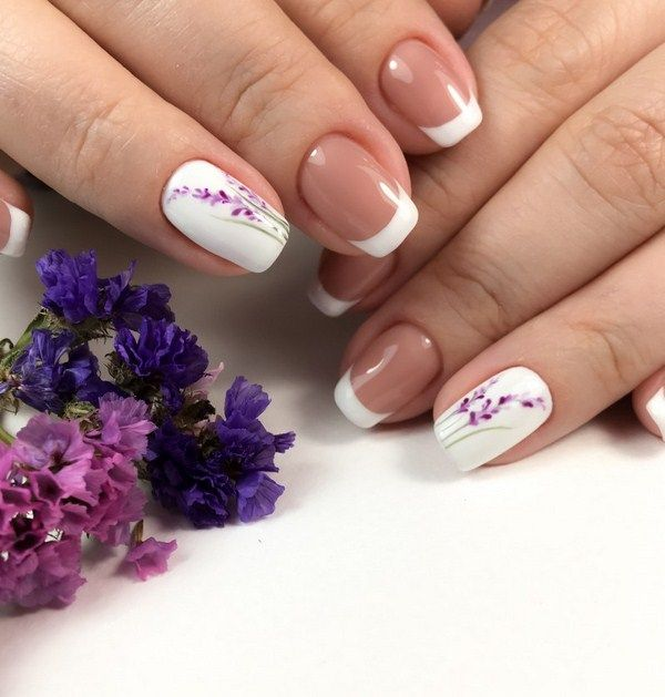 51 Cute French Nail Art Designs Ideas To Wear Now With Images