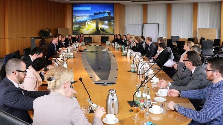 """""""Bündnis für Familie"""" lud in die Hauptverwaltung von thyssenkrupp Steel Europe ein"""