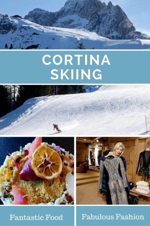 Cortina, Italy - Skiing, Food and Fashion in Cortina d'Ampezzo, Italy