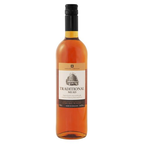 Traditional mead has a sublime honey taste and characteristic aroma. This sweet scented wine is perfect with desserts.  http://www.english-heritageshop.org.uk/food-drink/drink/english-heritage-traditional-mead-75cl