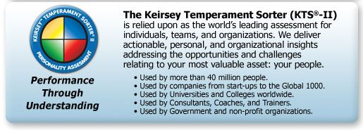 Great test with psychological research that dates back to thousands of years ago. Sound research and accurate observations based on a variation of the Myer-Briggs Personality Test - Keirsey Temperament Website