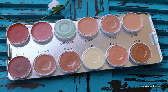 Kryolan Dermacolor Camouflage Creme Palette 24 Colors Photos and Price