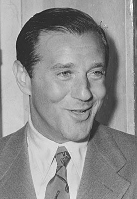 """Benjamin """"Bugsy"""" Siegel. Don't try what he did at home or in school. Stay safe ;)"""