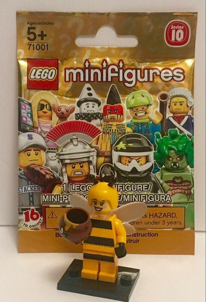 LEGO 71001 Bumblebee Girl Minifig Series 10 Minifigure