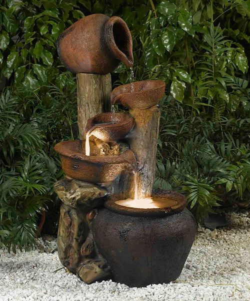 Look at this Pentole Pot Outdoor/Indoor Fountain & Light on #zulily today!