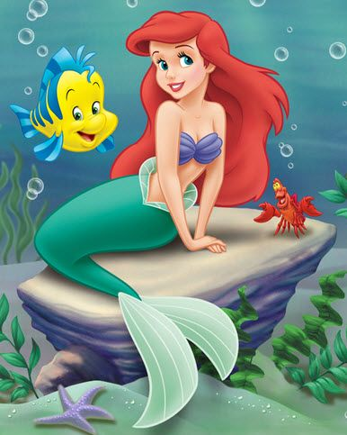 Ariel The Little Mermaid -  cake topper?
