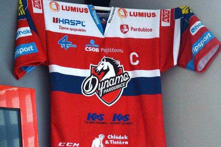 HC Dynamo Pardubice 2015/16 jersey