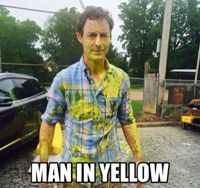 The man in yellow reverse flash the flash eobard thawne Barry Allen dr. Harrison Wells
