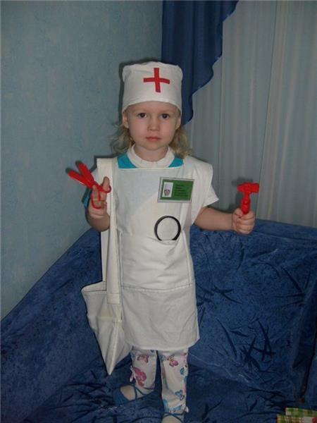 Как сделать костюм доктора