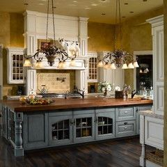 French Country Kitchen Extraordinary 66 Best French Country Kitchens Images On Pinterest  Dream Review