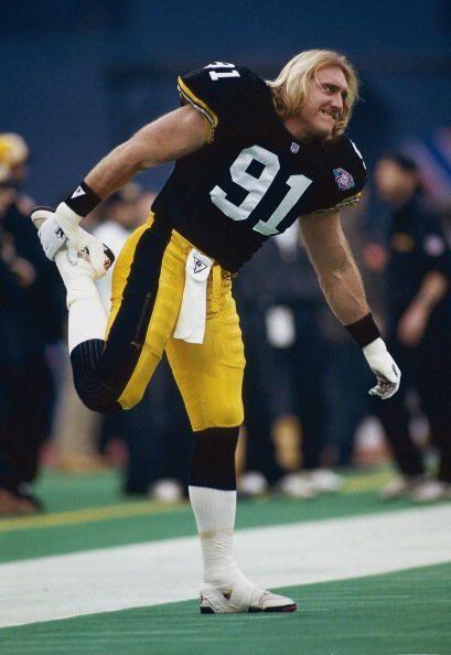 Kevin Greene, Pittsburgh Steelers, Linebacker