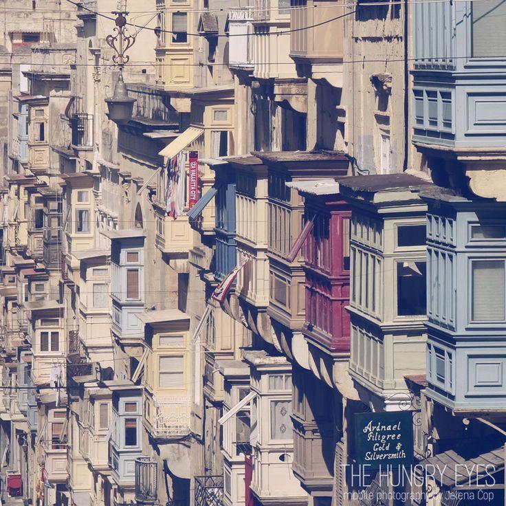 Valletta photography, Malta photography, Valletta street print, Valletta print…