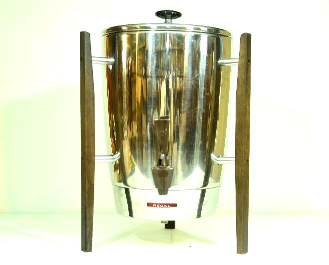 Midcentury Designed Regal Ware Coffee Maker 10 to 30 Cup Capacity by VintageRescuer on Etsy