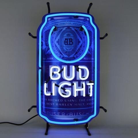 Bud Light Neon Can
