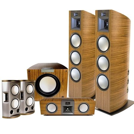 Looking to rock out this hoiday? Check out the home theater systems from Arkansas-based Klipsch.