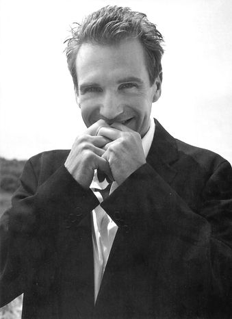 """Ralph Fiennes... I have adored him since I saw his movie """"The English Patient"""""""
