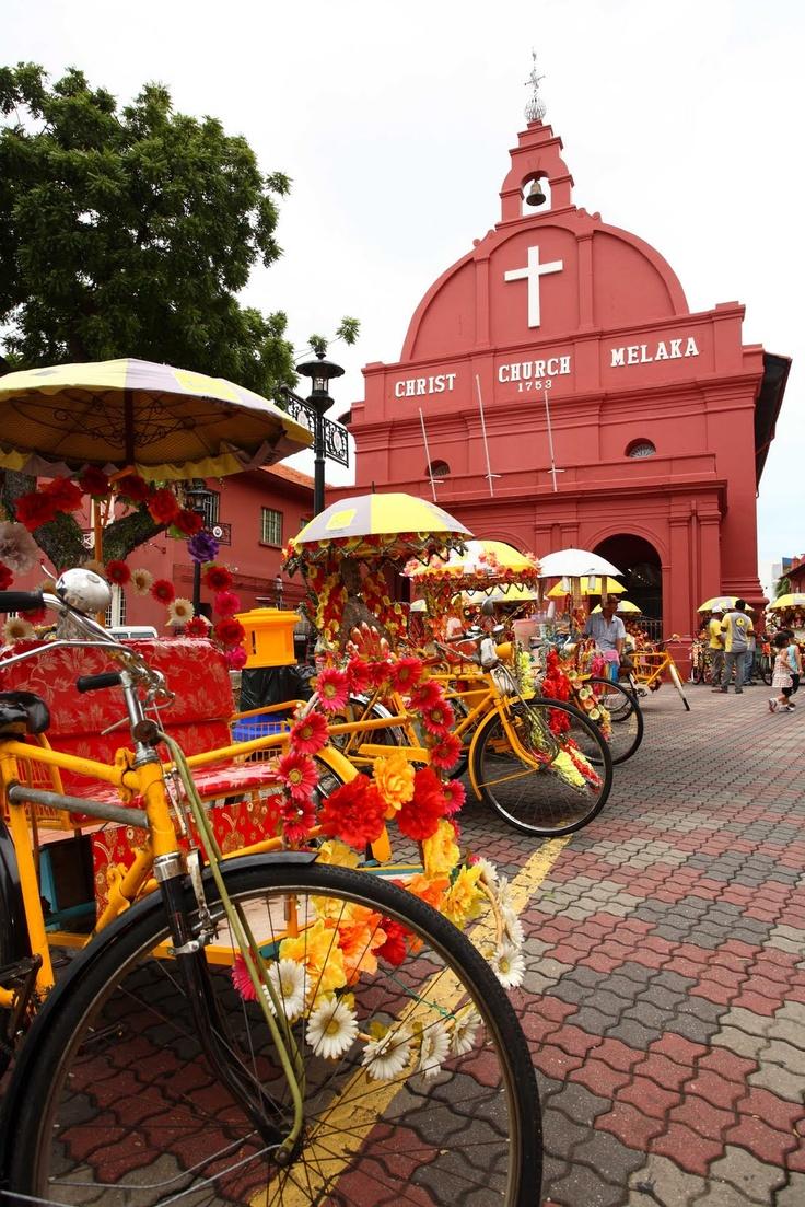 Ontdek het koloniale verleden van Malacca. http://www.333travel.nl/tour/maleisie/historisch-malacca?productcode=T572
