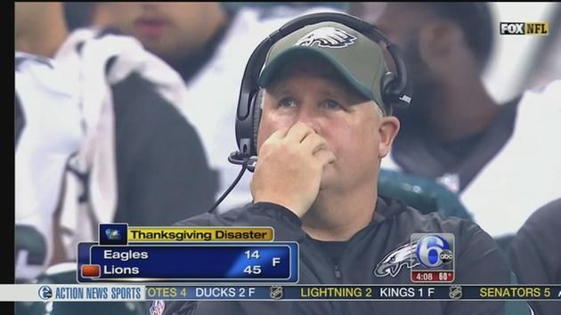 Eagles-Lions Postgame: I'm Not Thankful for This Eagles Team