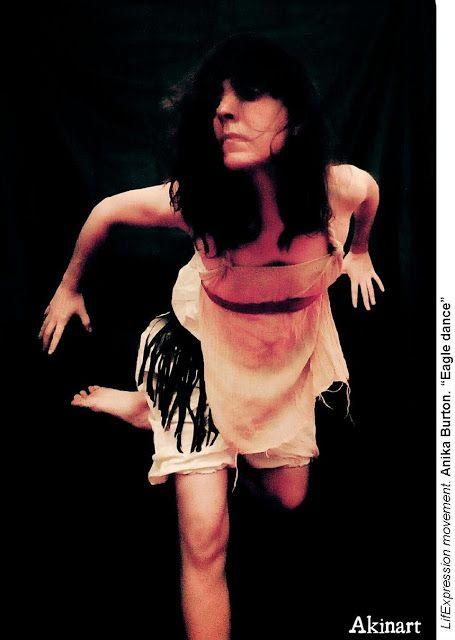 Anika Burton dancer: Eagle dance