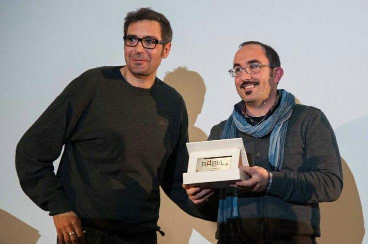 """Babel Film Festival di Cagliari 2013. Consegna del premio FICC, premio del Pubbico al Documentario """"Evò ce esù"""" di Pantaleo Rielli e Christian Manno"""