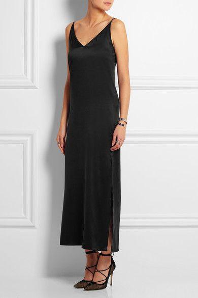 Equipment | Racquel silk-charmeuse maxi dress | NET-A-PORTER.COM