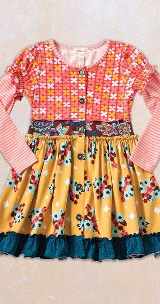 Matilda Jane - Friends Forever - Annika Dress- love the color combo