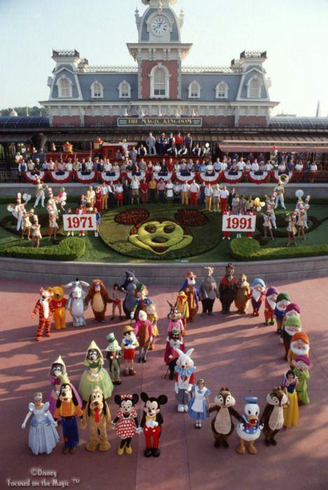 20th anniversary of Disney World