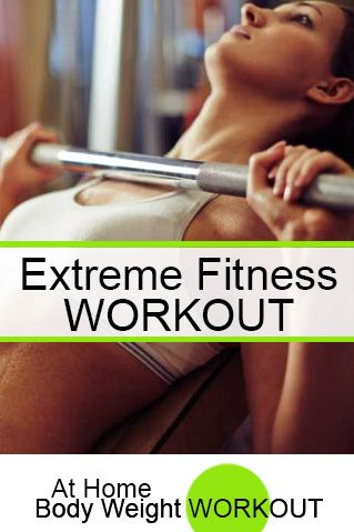 When you work out for extreme fitness, are you a slave to the gym and give up everything else in your life?  http://athomebodyweightworkout.com/working-extreme-fitness/