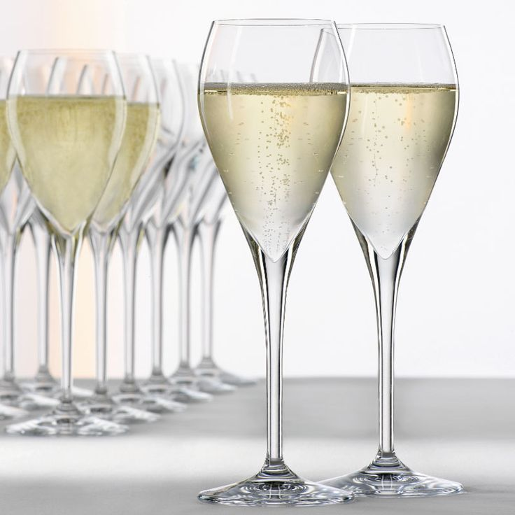 Show details for Spiegelau Party Champagne Glasses / Tulip - Set of 6